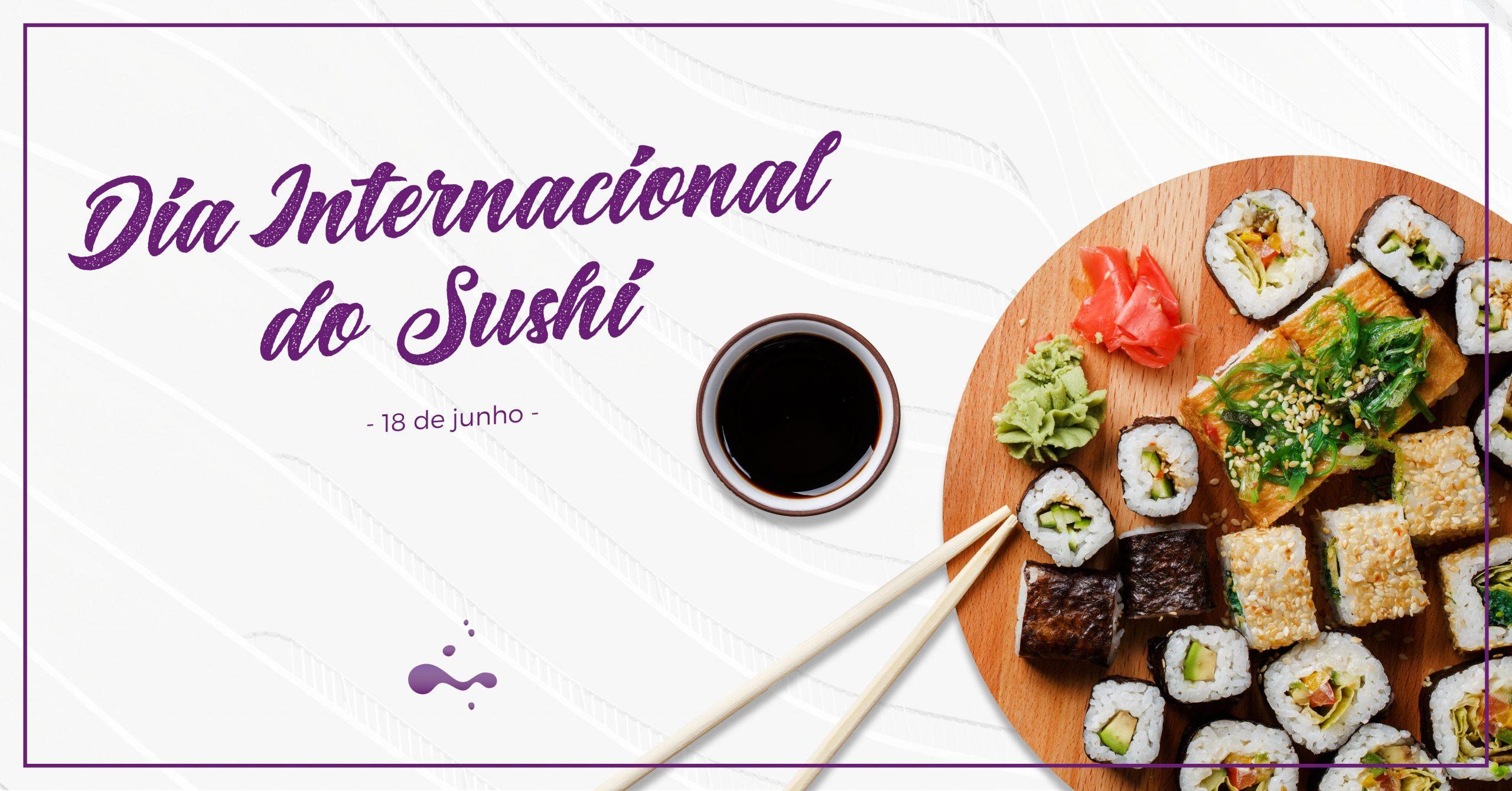 5 Dicas para uma refeição de sushi saudável