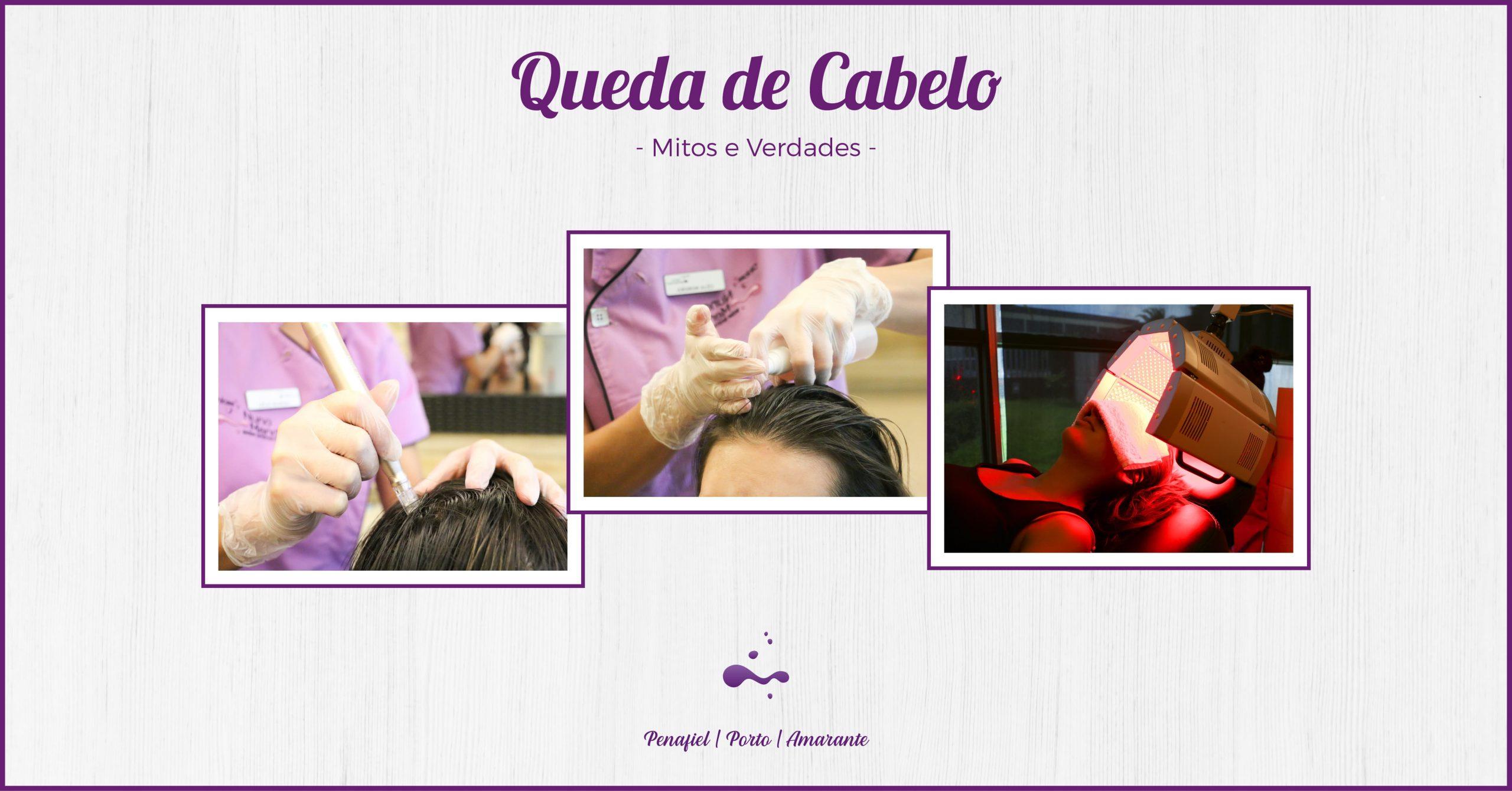 Queda de cabelo: Mitos e verdades