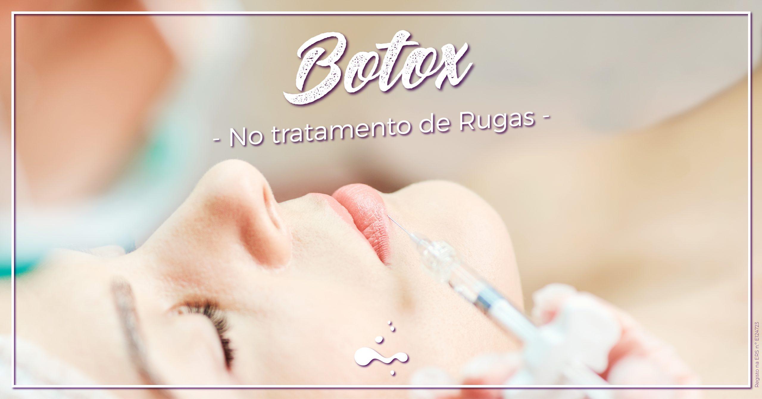 Botox no tratamento de Rugas